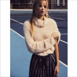 Free People One Very Soft Turtleneck Dream Sweater
